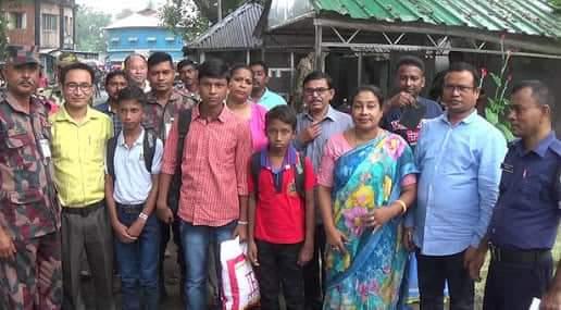 ভারতে আটক চার বাংলাদেশি কিশোরকে সীমান্তে হস্তান্তর