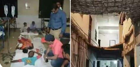চাঁদপুরে এতিমখানার ছাদ ধসে অর্ধশত শিক্ষার্থী আহত