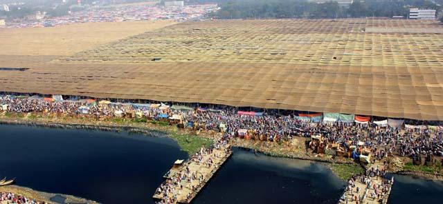 বিশ্ব ইজতেমার মাঠ সেনাবাহিনীর কাছে হস্তান্তর