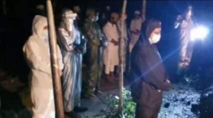 এমপির ইমামতিতে এএসআই আব্দুল খালেকের জানাজা
