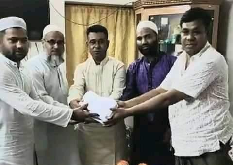 ব্যবসায়ী সাজ্জাদ হোসেন দুদু'র ৬শত পরিবারকে ঈদ উপহার প্রদান