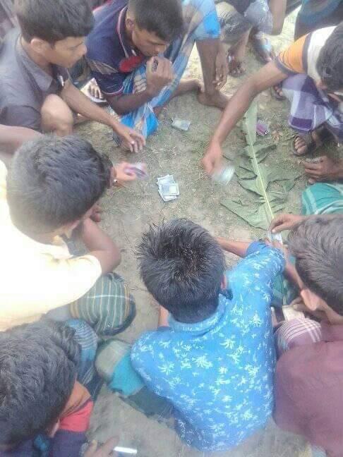 ভোলায় করোনা পরিস্থিতির মধ্যেও থামেনি জুয়া খেলা