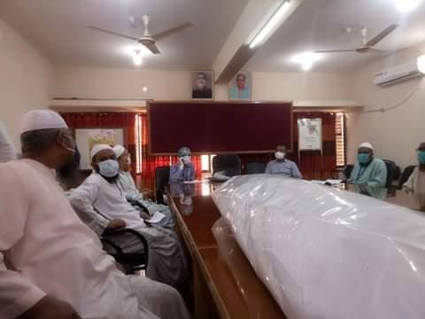ইসলামী আন্দোলন নওগাঁর করোনায় মৃতের কাফন-দাফন টিমের প্রশিক্ষণ অনুষ্ঠিত