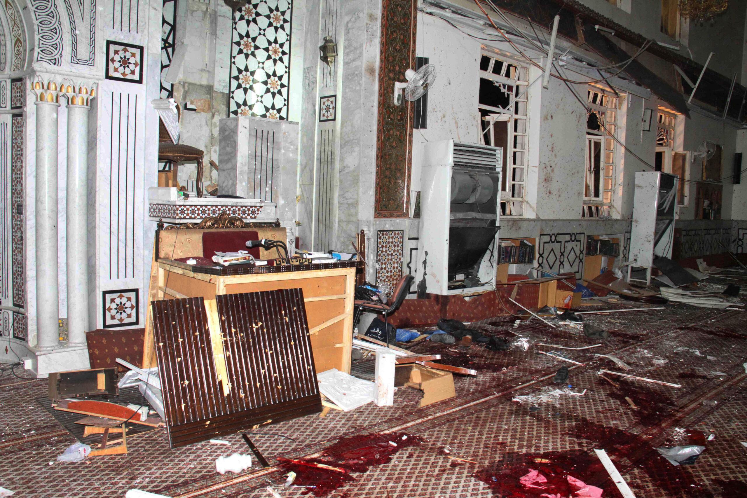 আফগানিস্তানের জামে মসজিদে সন্ত্রাসী হামলার দায়ী অস্বীকার করল তালেবান