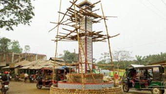 রংপুরে নির্মিত হচ্ছে আল্লাহু ৯৯ নাম খচিত ভাস্কর্য